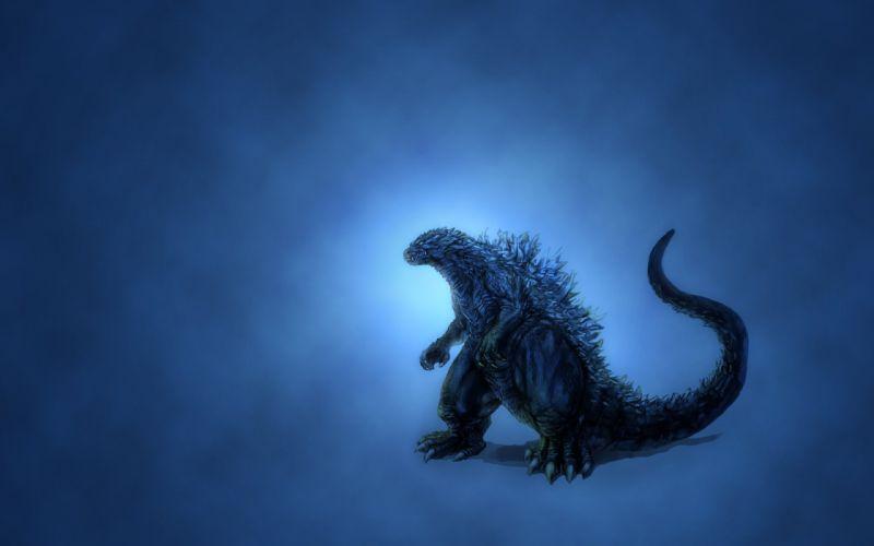 dinosaur godzilla movie action sci-fi wallpaper