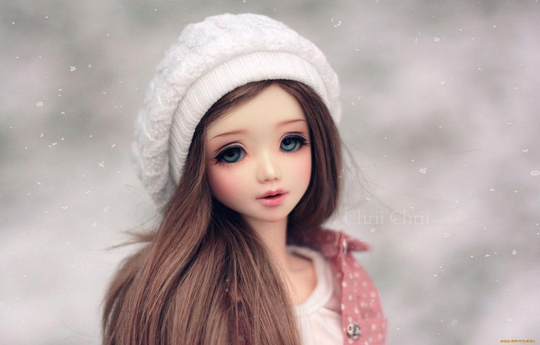 doll toy mood bokeh girl   v wallpaper