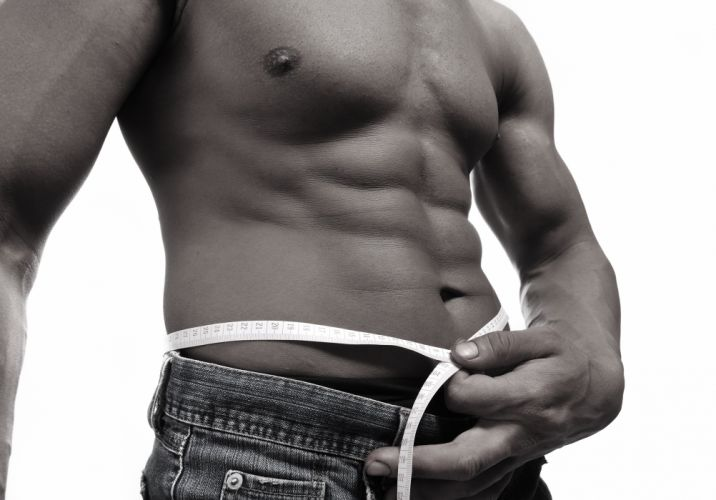 man torso jeans centimeter model sexy fitness muscles wallpaper