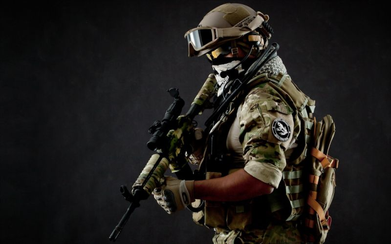 weapon soldier army gun military wallpaper