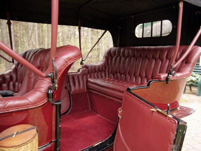 1906 Studebaker Garford G-30 Side Entrance Touring retro interior g wallpaper