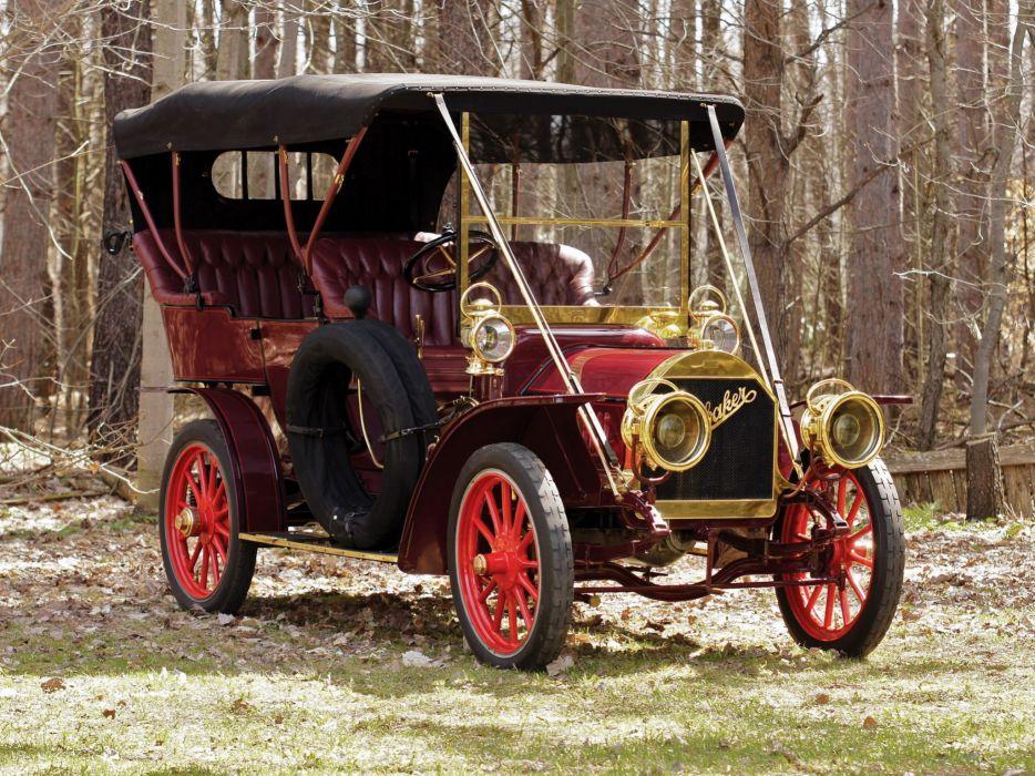1906 Studebaker Garford G-30 Side Entrance Touring retro   g wallpaper