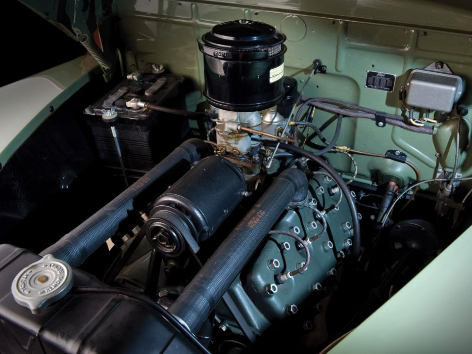 1941 Ford V-8 Super Deluxe StationWagon (11A-79B) woody retro engine    g wallpaper