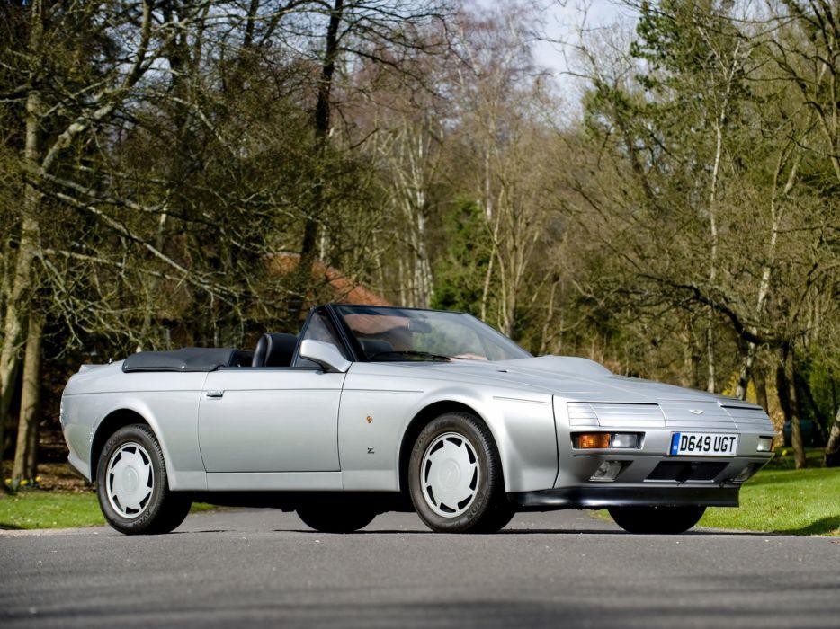1987 Aston Martin V-8 Vantage Volante Zagato Prototype g wallpaper