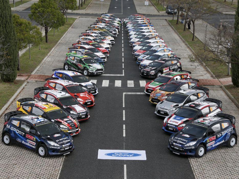 2008 Ford Fiesta race racing   g wallpaper