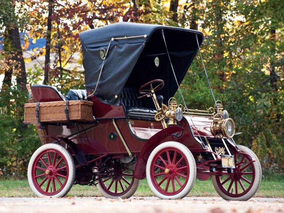1903 Cadillac Model-A Runabout Tonneau retro   5 wallpaper