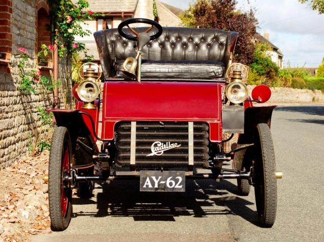 1903 Cadillac Model-A Runabout Tonneau retro r wallpaper