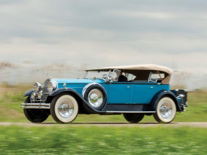 1930 Packard Custom Eight Sport Phaeton (740-441) retro luxury v wallpaper