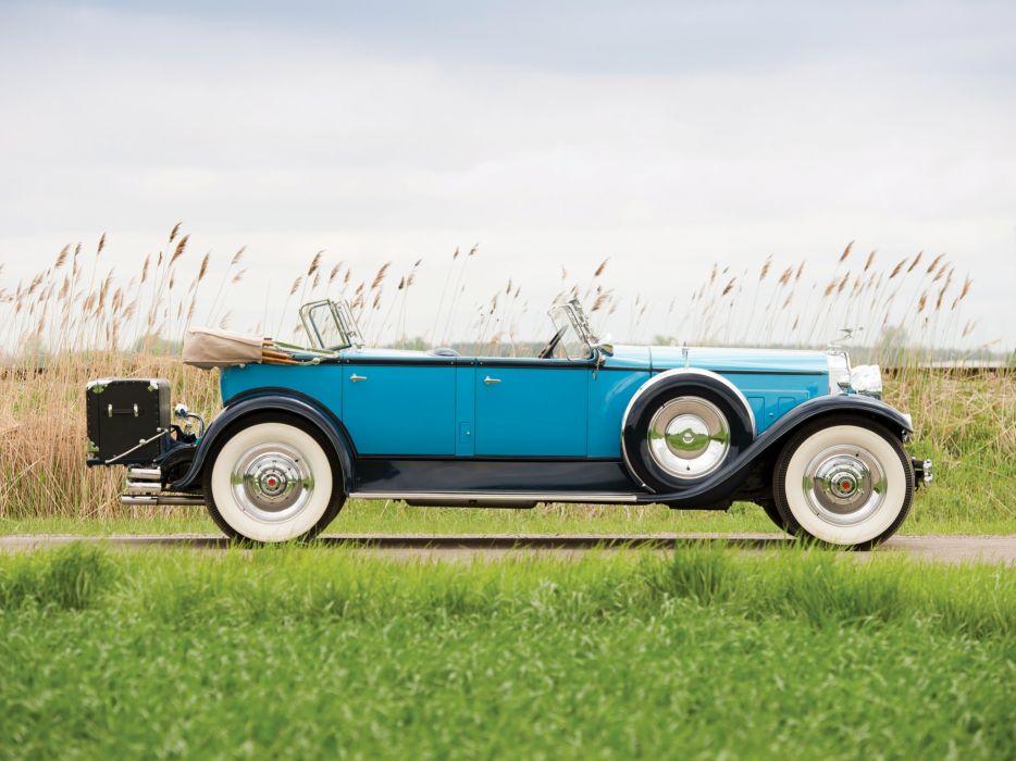 1930 Packard Custom Eight Sport Phaeton (740-441) retro luxury h wallpaper