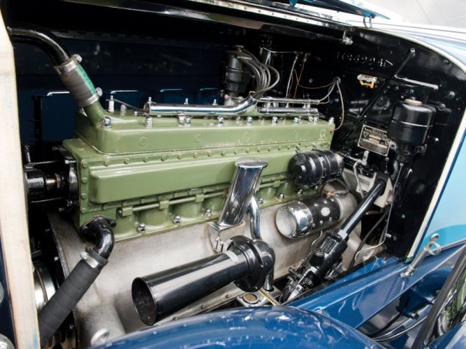 1930 Packard Custom Eight Sport Phaeton (740-441) retro luxury engine h wallpaper