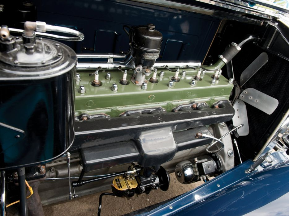 1930 Packard Custom Eight Sport Phaeton (740-441) retro luxury engine  g wallpaper