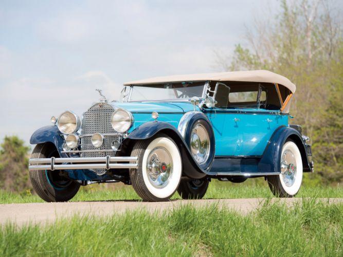 1930 Packard Custom Eight Sport Phaeton (740-441) retro luxury g wallpaper