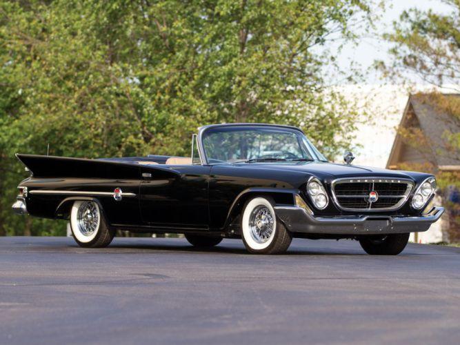 1961 Chrysler 300G Convertible luxury classic f wallpaper