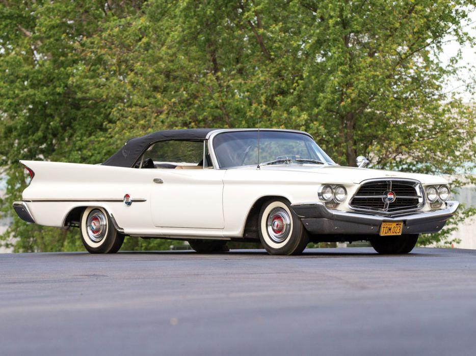 1960 Chrysler 300F Convertible classic luxury  g wallpaper