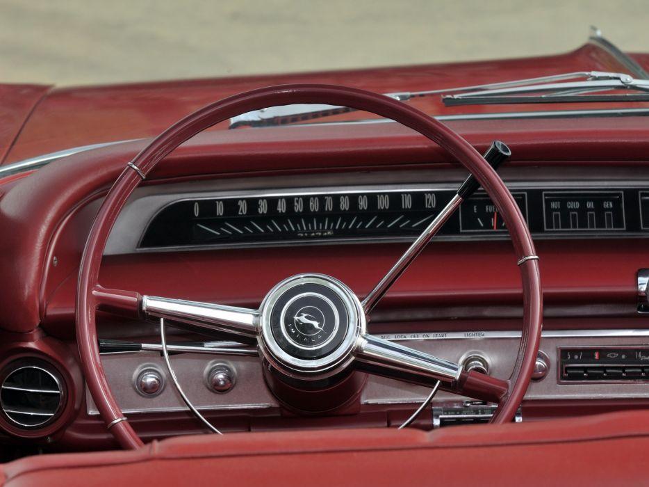 1964 Chevrolet Impala Convertible classic interior   f wallpaper