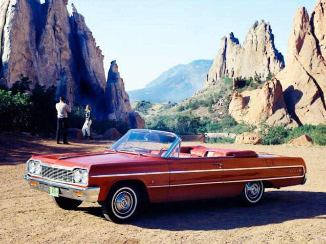 1964 Chevrolet Impala Convertible classic f wallpaper