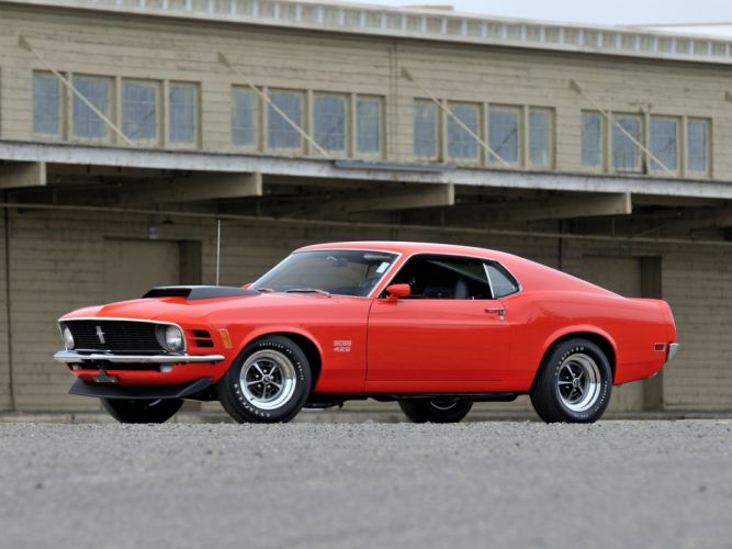 1970 Ford Mustang Boss 429 muscle classic 6 wallpaper