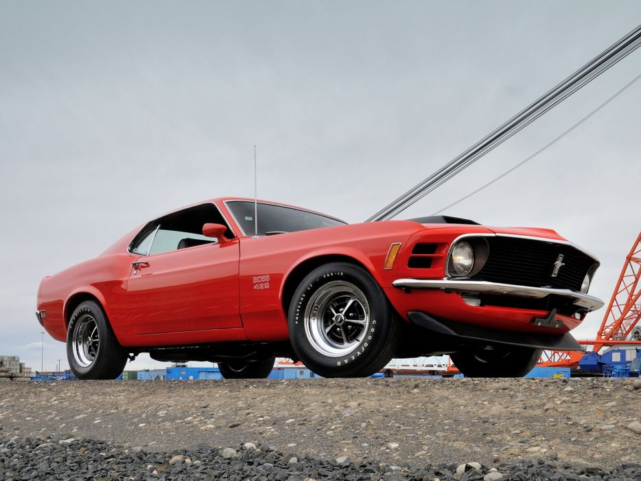 1970 Ford Mustang Boss 429 muscle classic  u wallpaper