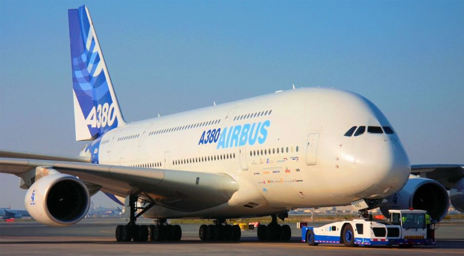 AIRBUS A380 airliner plane airplane transport (13) wallpaper