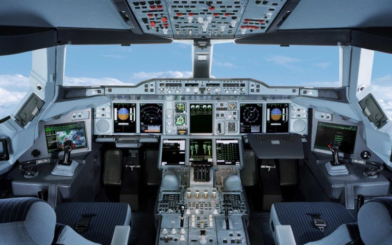 AIRBUS A380 airliner plane airplane transport (20) wallpaper