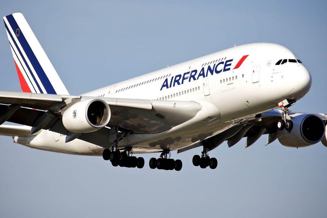 AIRBUS A380 airliner plane airplane transport (23) wallpaper