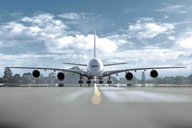 AIRBUS A380 airliner plane airplane transport (25) wallpaper