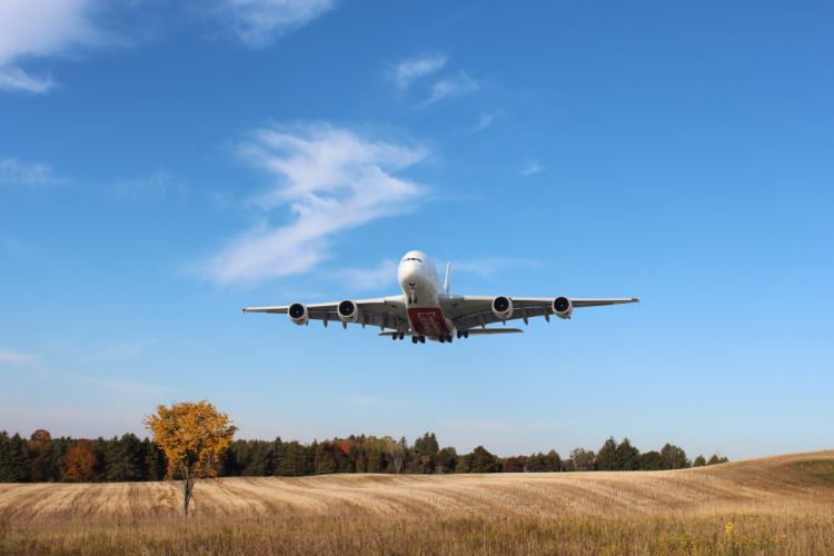 AIRBUS A380 airliner plane airplane transport (29) wallpaper