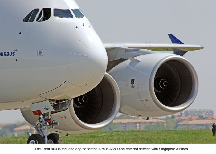 AIRBUS A380 airliner plane airplane transport (35) wallpaper