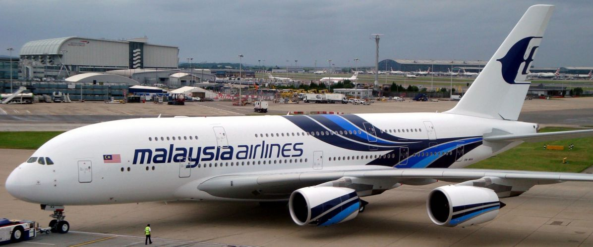 AIRBUS A380 airliner plane airplane transport (37) wallpaper