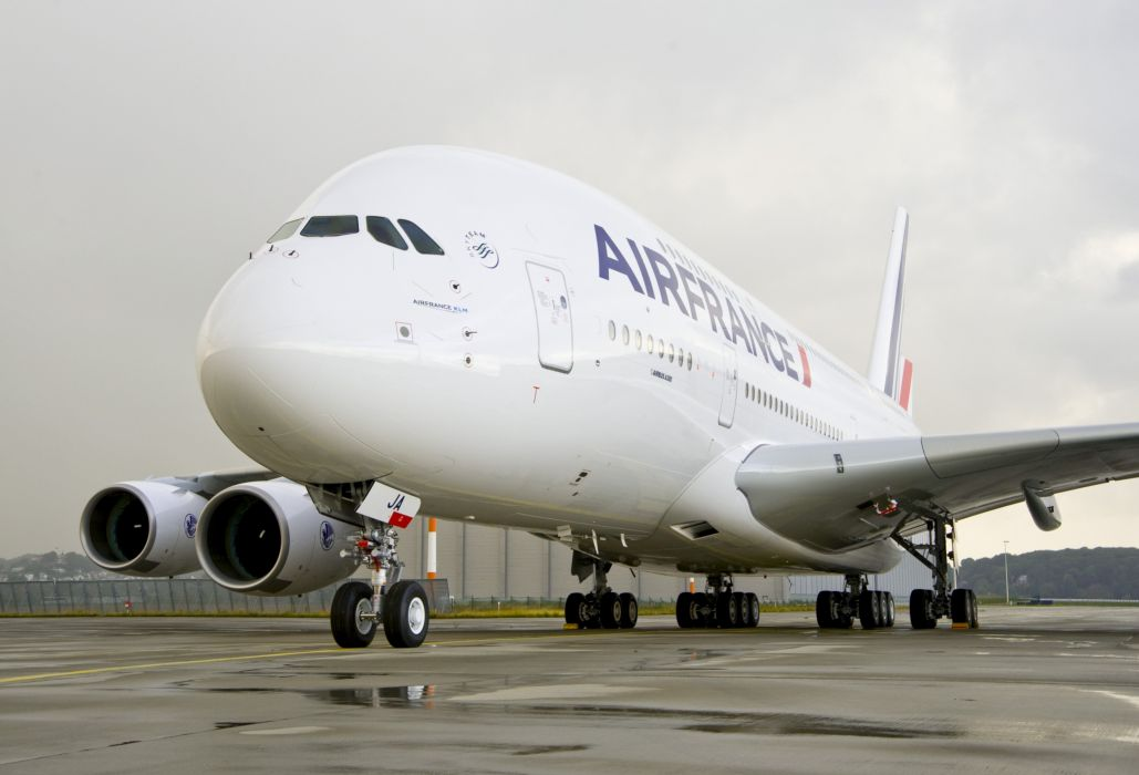 AIRBUS A380 airliner plane airplane transport (38)_JPG wallpaper
