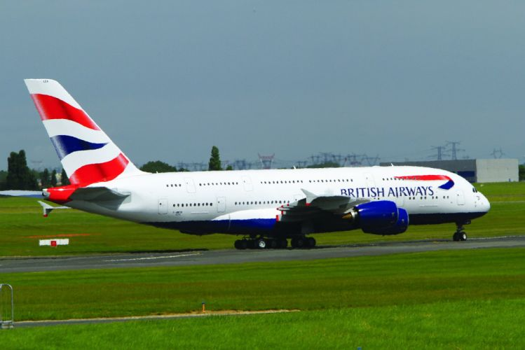 AIRBUS A380 airliner plane airplane transport (48) wallpaper