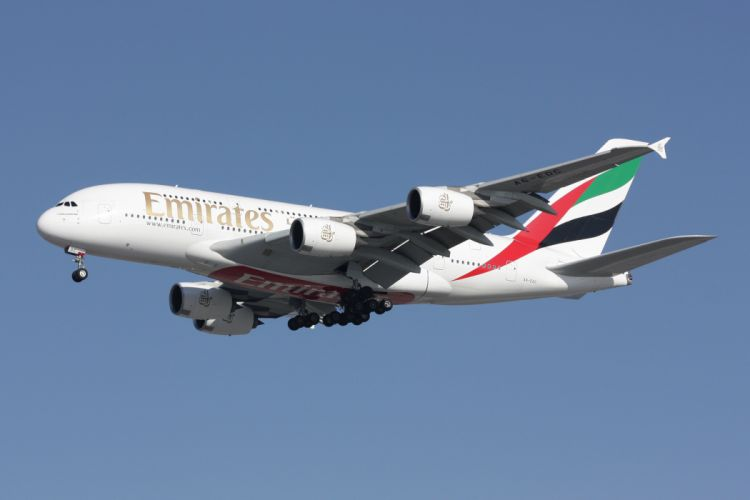 AIRBUS A380 airliner plane airplane transport (57) wallpaper