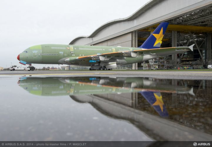 AIRBUS A380 airliner plane airplane transport (58) wallpaper