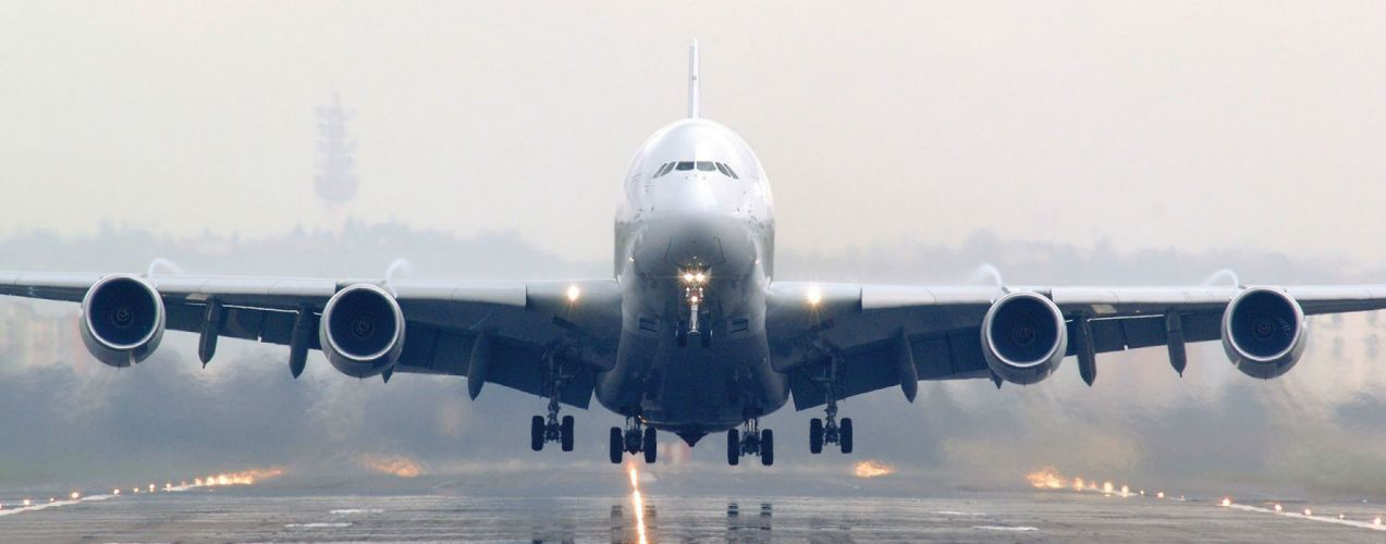 AIRBUS A380 airliner plane airplane transport (69) wallpaper