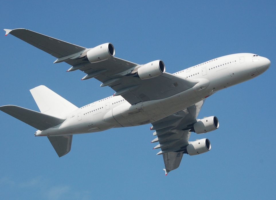 AIRBUS A380 airliner plane airplane transport (70) wallpaper