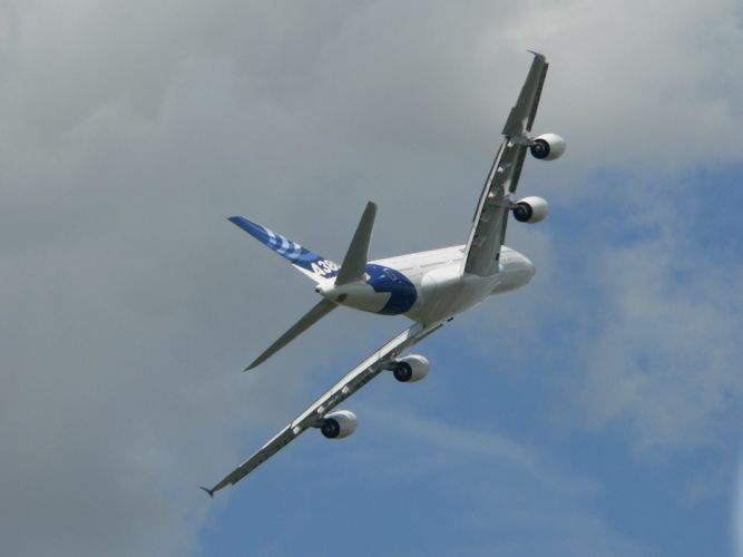 AIRBUS A380 airliner plane airplane transport (79) wallpaper