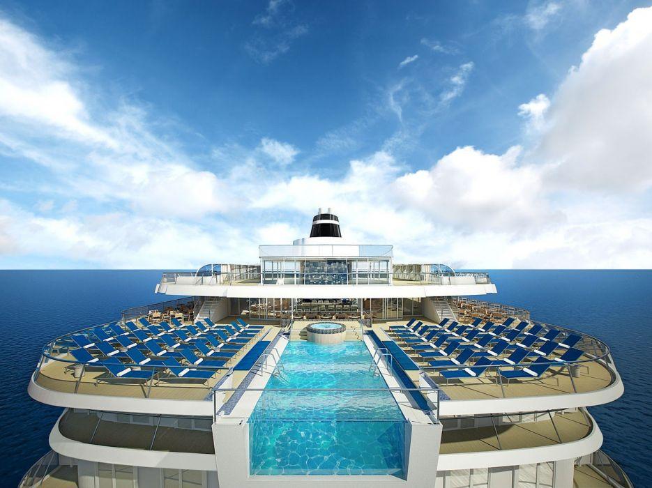 CRUISE ship oceanliner liner boat (63) wallpaper