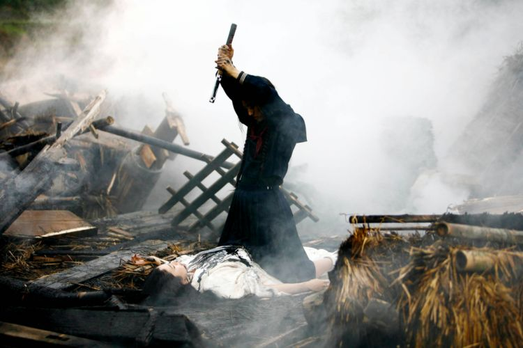 BLOOD LAST VAMPIRE action horror thriller martial warrior samurai (9) wallpaper