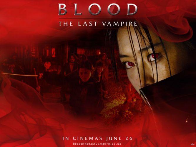 BLOOD LAST VAMPIRE action horror thriller martial warrior samurai (26) wallpaper
