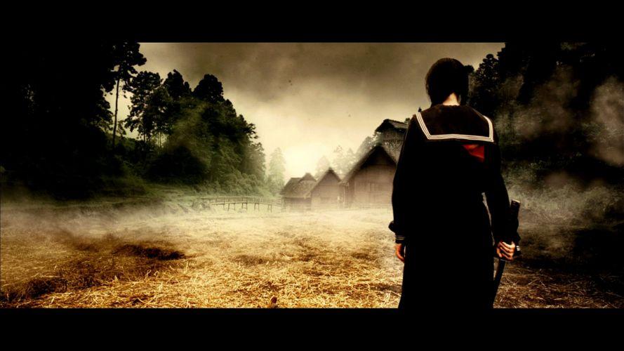 BLOOD LAST VAMPIRE action horror thriller martial warrior samurai (42) wallpaper