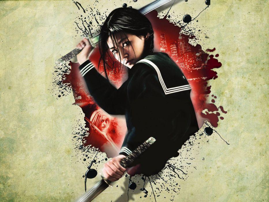 BLOOD LAST VAMPIRE action horror thriller martial warrior samurai (69) wallpaper