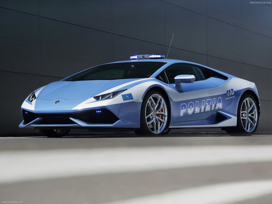 Lamborghini Huracan LP610-4 Polizia 2015 Supercar Car Italy Police Wallpaper 4000x3000 wallpaper