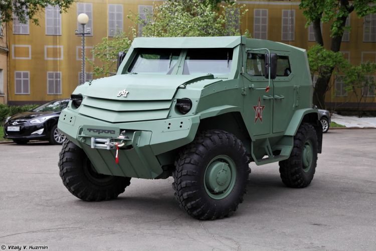 russian red star Russia army military 4x4 Basic variant of Toros armored vehicle 2 4000x2667 4000x2667 wallpaper