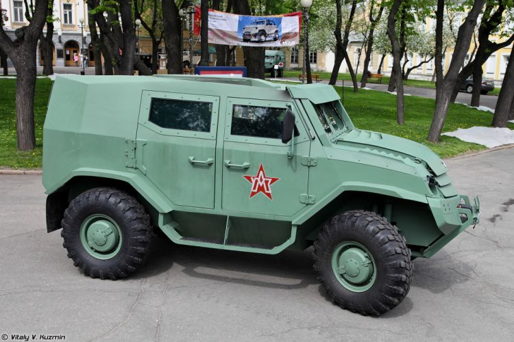 russian red star Russia army military 4x4 Basic variant of Toros armored vehicle 11 4000x2667 4000x2667 wallpaper