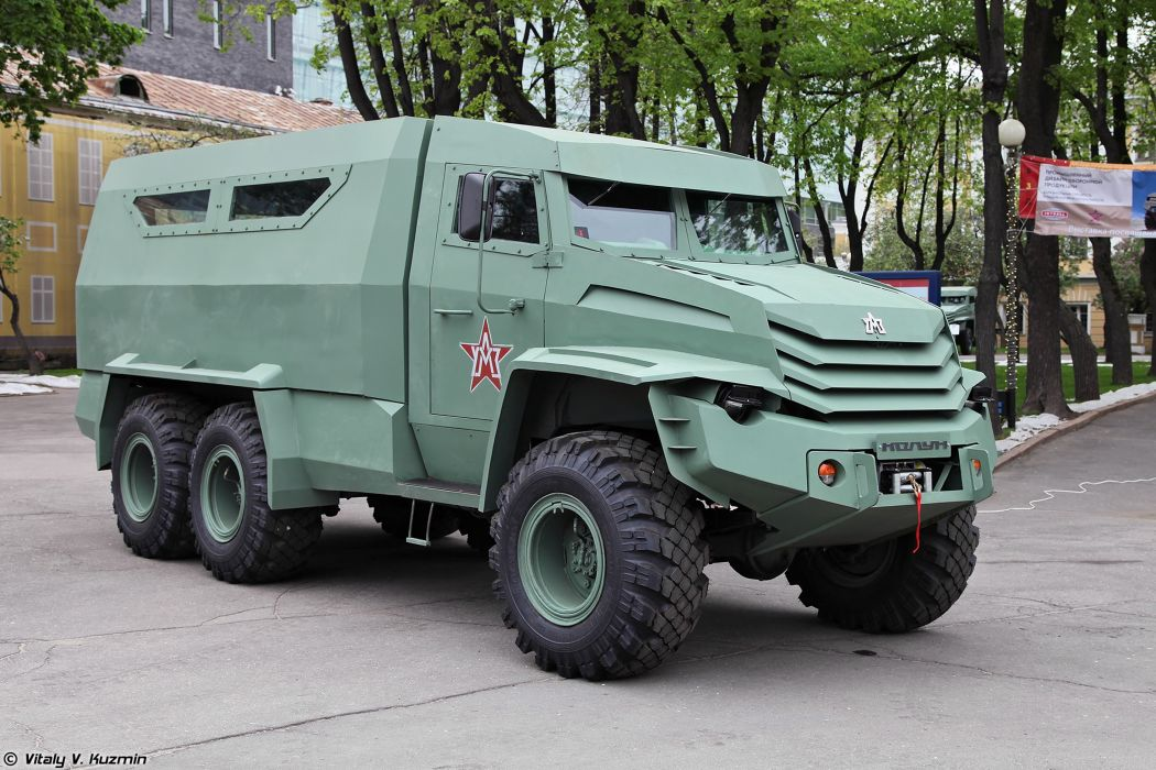 russian red star Russia army military Kolun 6x6 armored vehicle 4000x2667 4000x2667 wallpaper