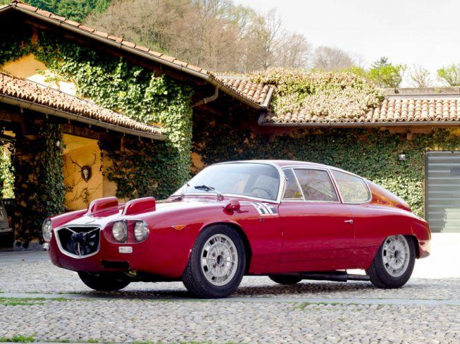 1964 Lancia Flavia Sport Corsa Car Italy Supercar 4000x3000 wallpaper