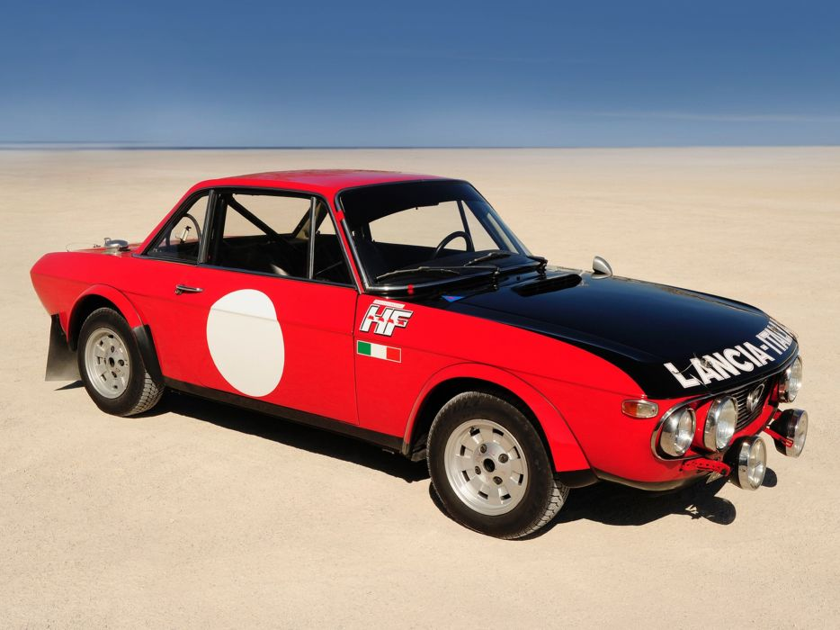1970 Lancia Fulvia Coupe 1600HF Corsa Race Rally Car Racing Italy 4000x3000 wallpaper