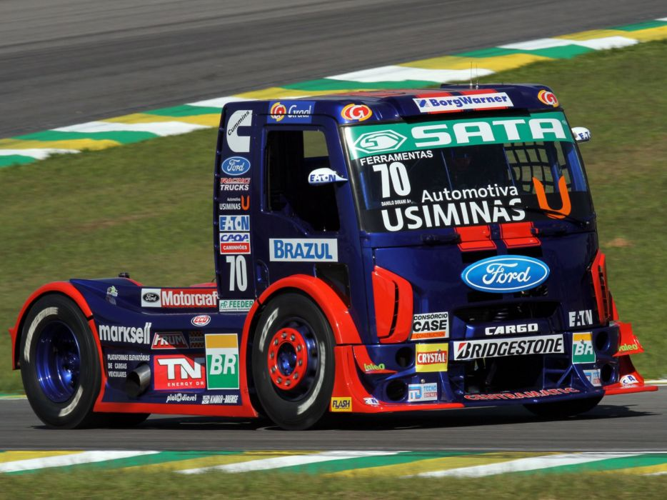 PICTURES RACING TRUCKS FORD CARGO 2010 wallpaper