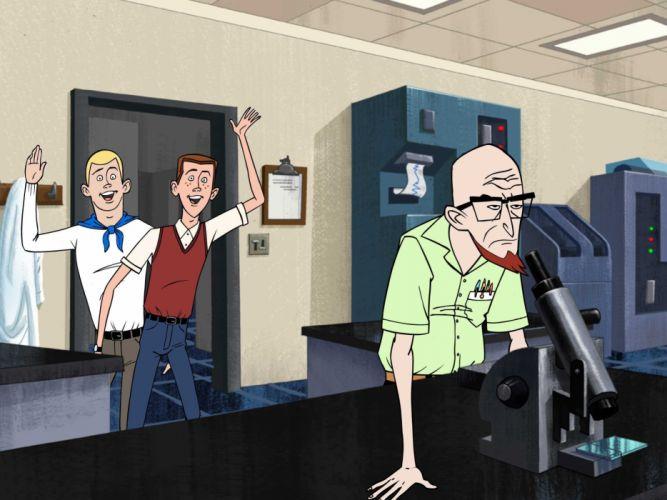 VENTURE BROS cartoon comedy adventure (6) wallpaper