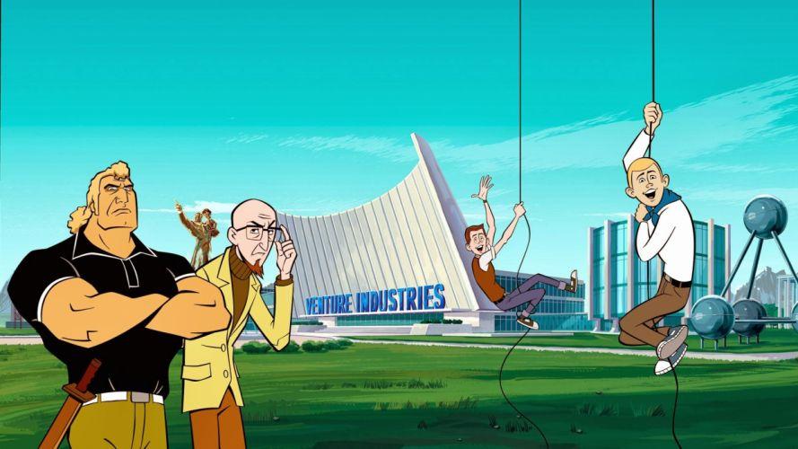 VENTURE BROS cartoon comedy adventure (10) wallpaper